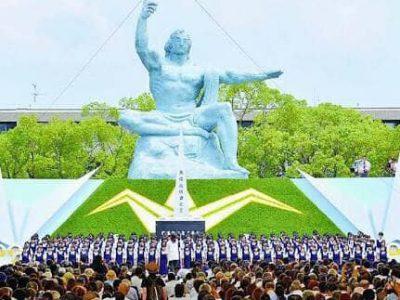 今日は 故郷 長崎の原爆の日です