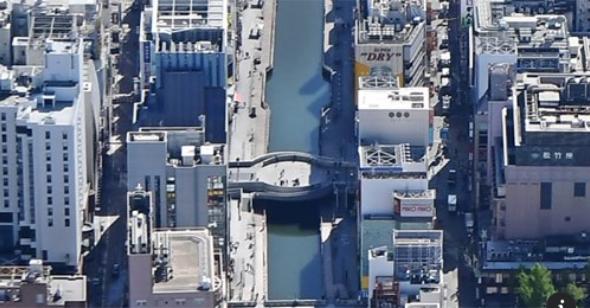 『路線価の下方修正 大阪•ミナミ、訪日客頼み響く』